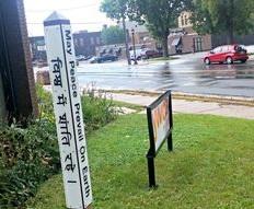 Peace Pole at YWCA