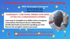 Courageous Conversations Workshop